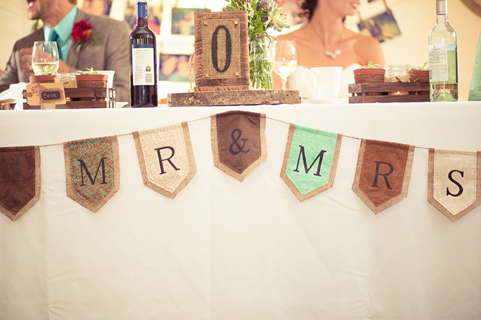 Mr and Mrs banner | Kandid Weddings Photography | Glamour & Grace