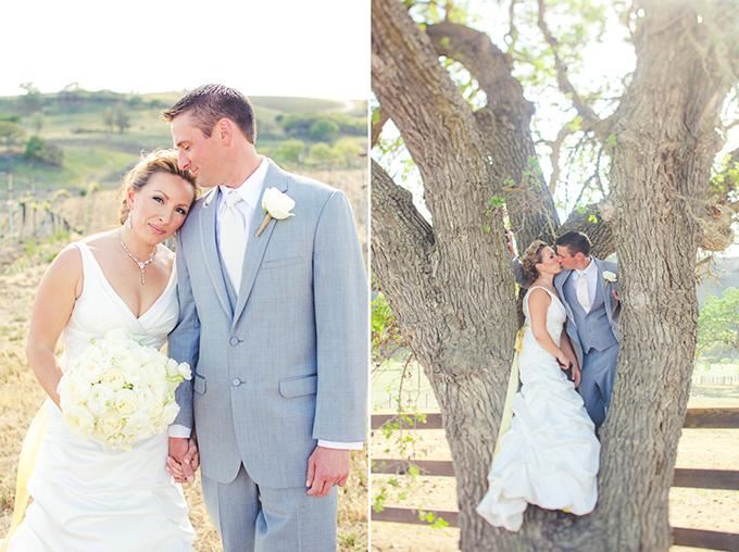 rustic handmade yellow wedding | Lindsey Gomes Photography | Glamour & Grace