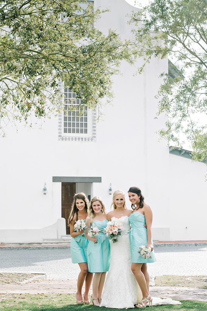 seafoam bridesmaids | dear wesleyann | Glamour & Grace