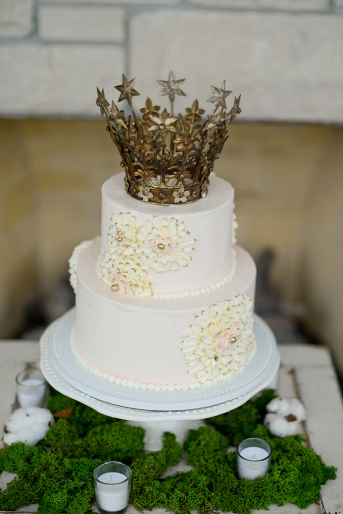 crown cake topper | Lindsey Pantaleo | Glamour & Grace