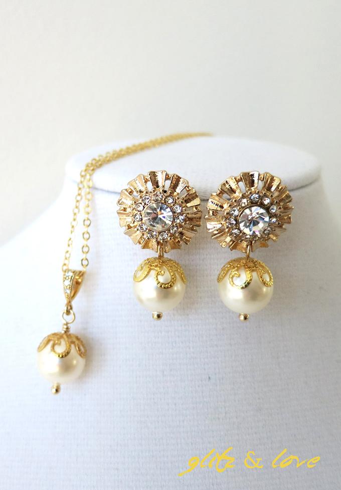 bridal jewelry | Glitz & Love | Glamour & Grace