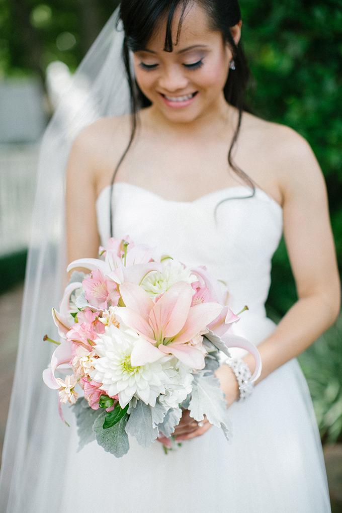 pink bouquet | Kimberly Chau Photography | Glamour & Grace