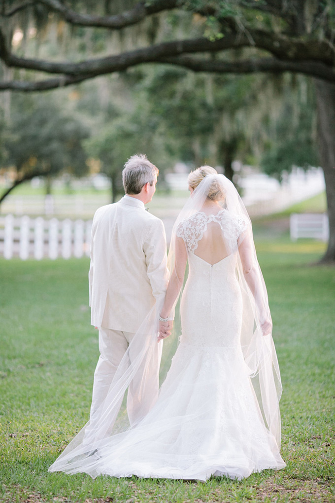 pink and green southern wedding | Justin DeMutiis Photography | Glamour & Grace