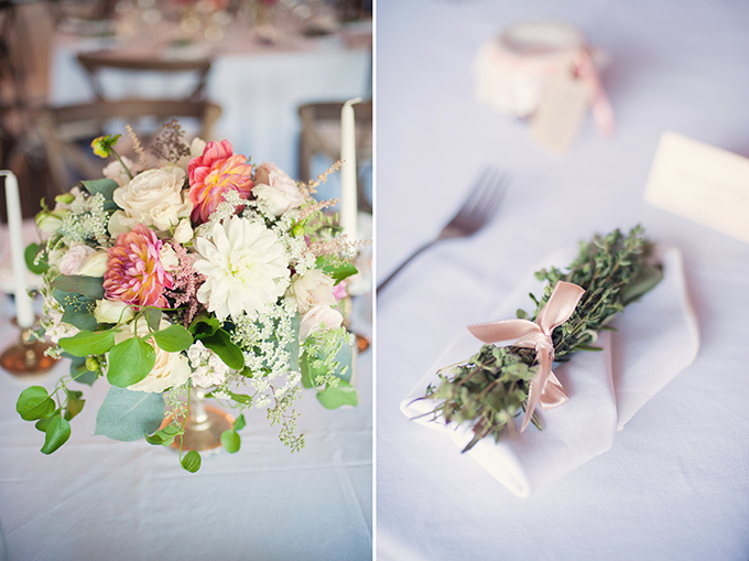 romantic rustic pink wedding | Melissa Gidney Photography | Glamour & Grace