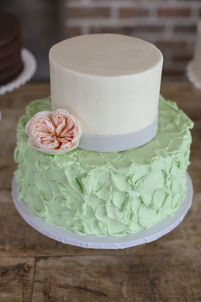 mint cake | Paige Winn Photo | Glamour & Grace