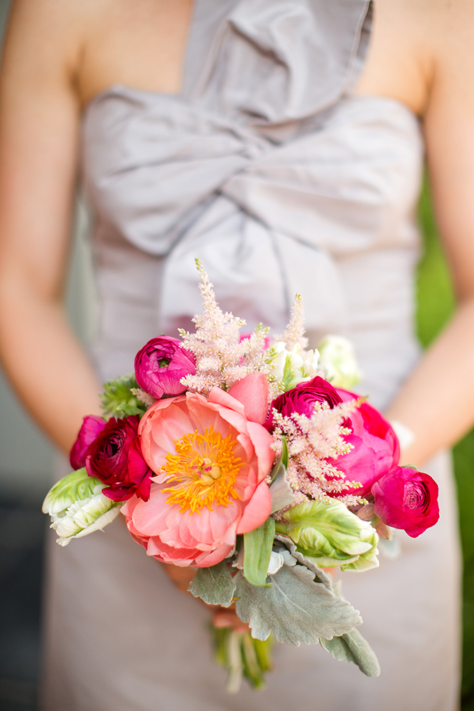 peach peony bouquet by Couture Designs | Katelyn James Photography | Glamour & Grace