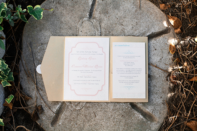 pink invitation | Kacie Lynch Photography | Glamour & Grace