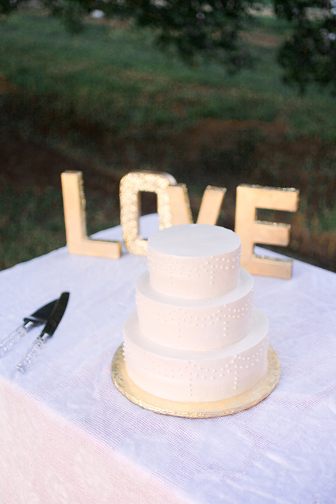white cake from Sugar Plum Bakery | Kacie Lynch Photography | Glamour & Grace