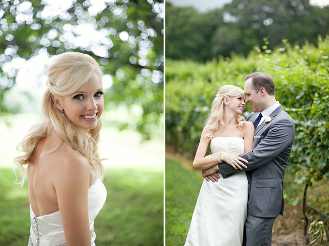 handmade vineyard wedding | Paperlily Photography | Glamour & Grace