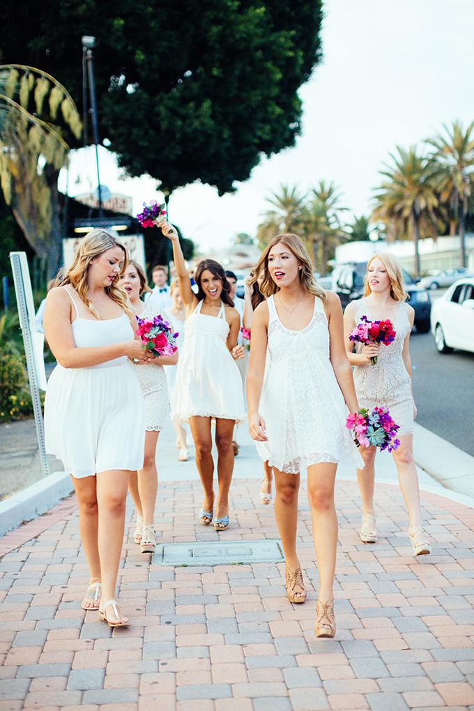 white bridesmaids   Snapmotive   Glamour & Grace