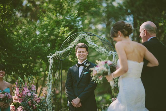 turquoise summer wedding | Kris Holland Photography | Glamour & Grace