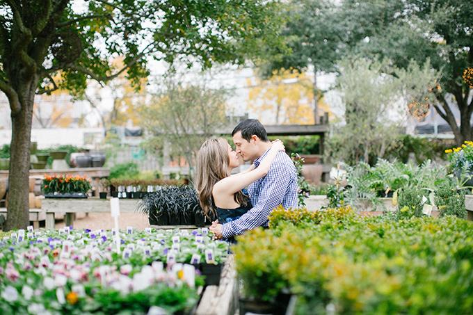 fun garden engagement | Kimberly Chau Photography | Glamour & Grace