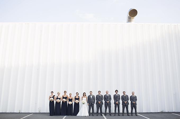 romantic orange wedding   Brooke Courtney Photography   Glamour & Grace