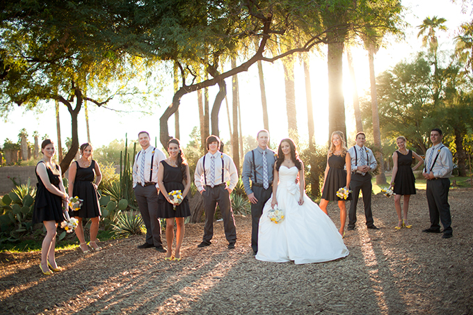 romantic yellow farm wedding | Stacy Kokes Photography | Glamour & Grace