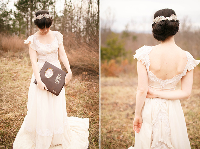 vintage bridal session | V.A. Photography | Glamour & Grace