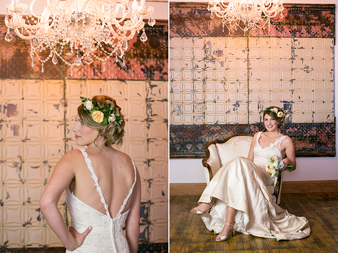 romantic gold wedding inspiration | Erin Johnson Photography | Glamour & Grace