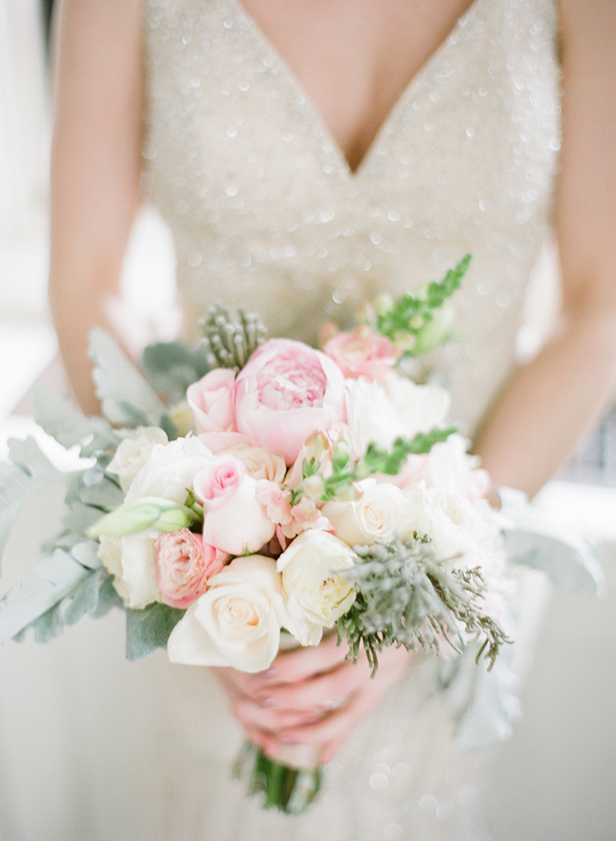 pink bouquet | David Abel Photography | Glamour & Grace