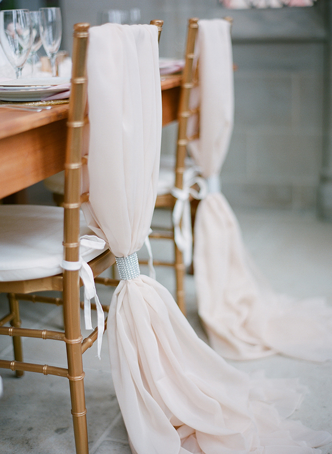 glam chair detail | David Abel Photography | Glamour & Grace