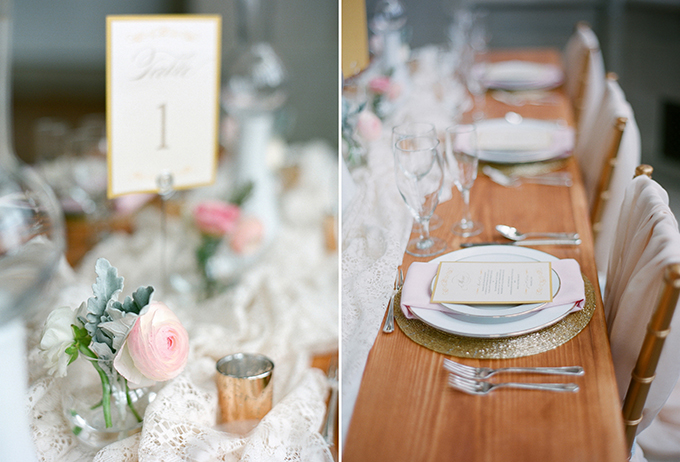 romantic pink wedding inspiration | David Abel Photography | Glamour & Grace