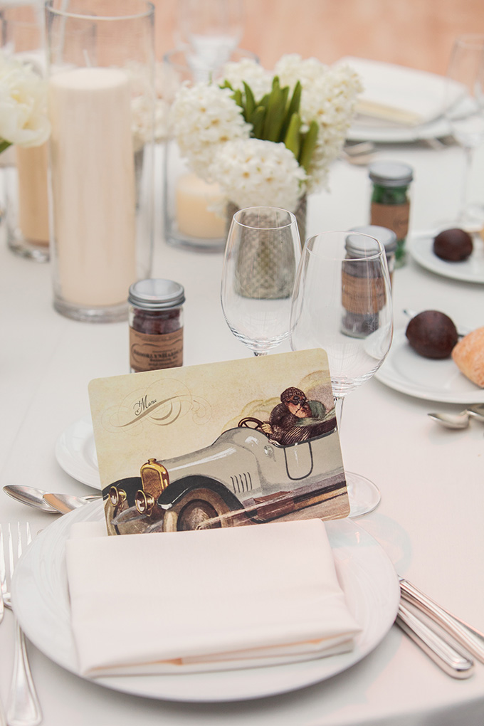 art deco menu | Kimberly Salem Photography | Glamour & Grace