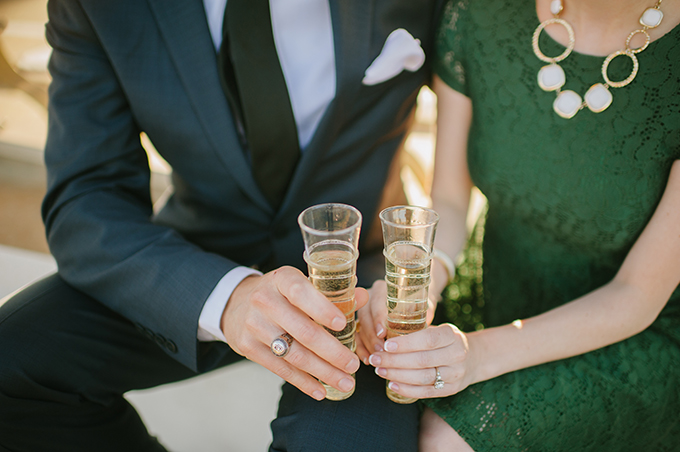 chic retro engagement | Candi Coffman Photography | Glamour & Grace