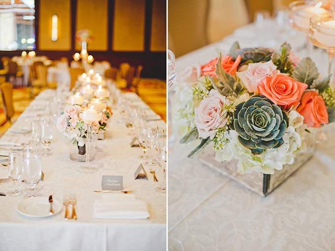 romantic florals by Flower Studio | Elyse Hall Photography | Glamour & Grace
