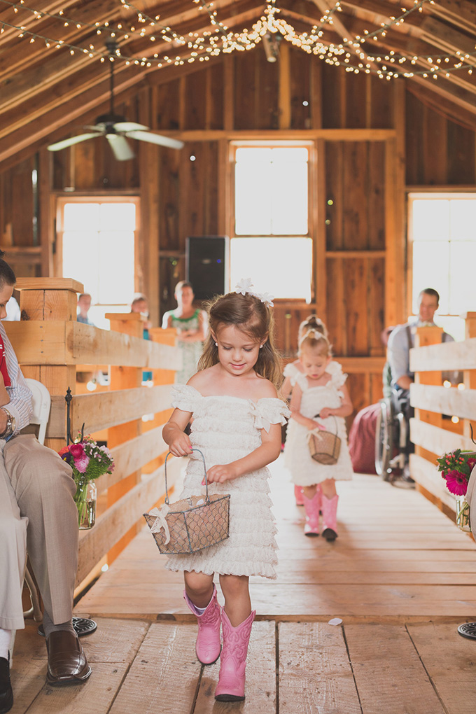 country flower girls | Jennifer Ling Photography | Glamour & Grace