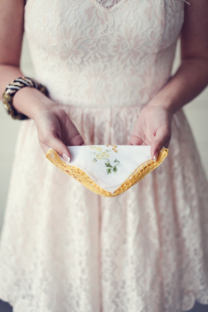 vintage hankies for gifts | Lukas & Suzy VanDyke | Glamour & Grace