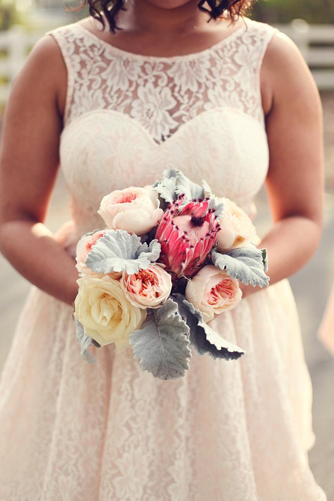 protea bouquet| Lukas & Suzy VanDyke | Glamour & Grace
