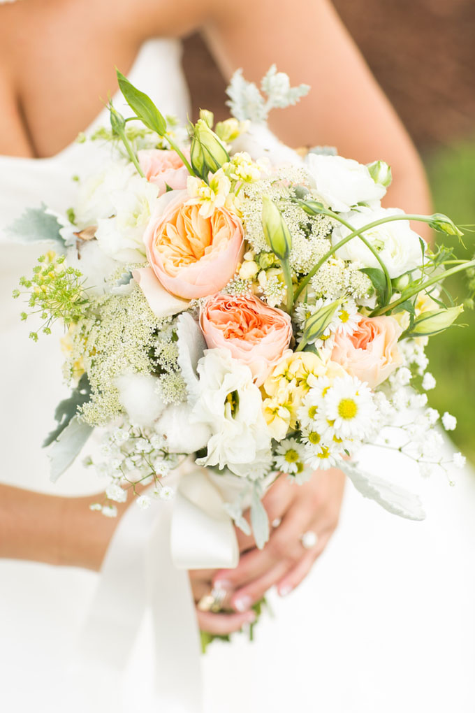 lush summer bouquet | Macon Photography | Glamour & Grace