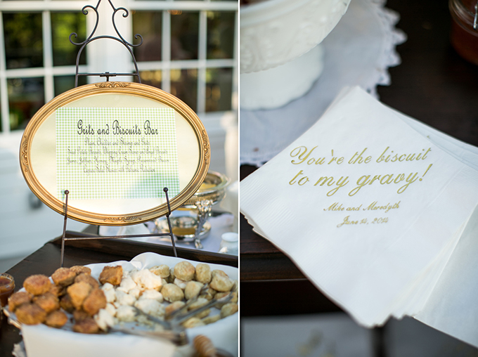 grits and biscuit bar | Macon Photography | Glamour & Grace