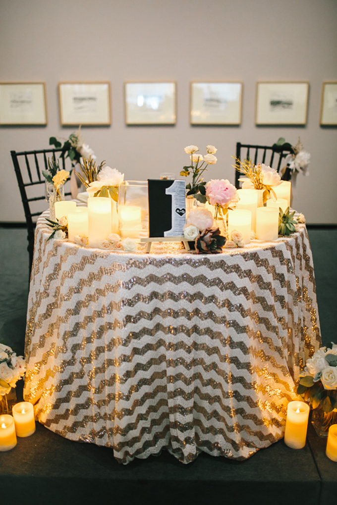 sweetheart table | Tamara Lockwood Photography | Glamour & Grace