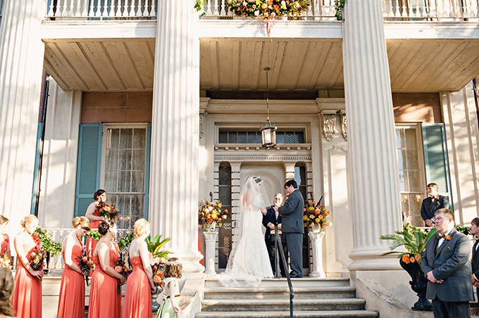 vintage fall wedding | Mark Eric Weddings | Glamour & Grace
