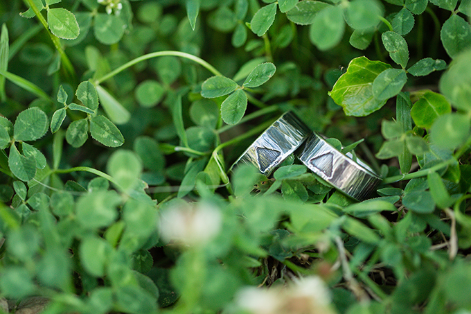 reclaimed silver wedding bands from The Smithery   Two Maries   Glamour & Grace