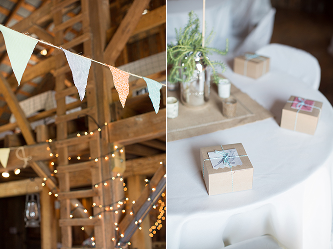 handcrafted barn wedding   Two Maries   Glamour & Grace