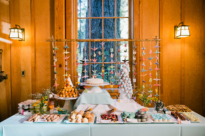 dessert table | Jasmine Lee Photography | Glamour & Grace
