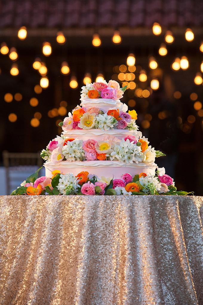 lush floral cake | Flashbox Photography | Glamour & Grace