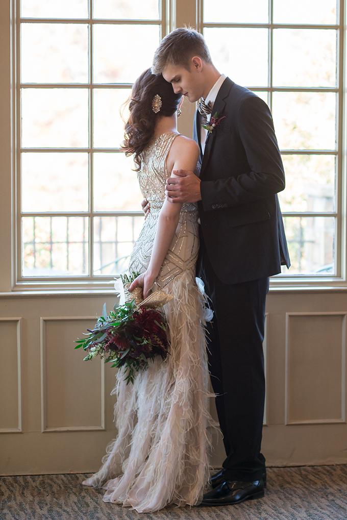 art deco wedding | Star Noir Studio | see more on Glamour & Grace