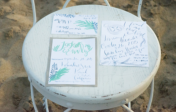 romantic beach wedding inspiration | Brooke Beasley Photography | Glamour & Grace