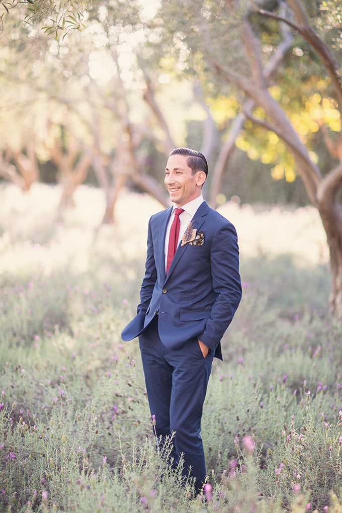 navy suit groom | Sun & Sparrow Photography | Glamour & Grace