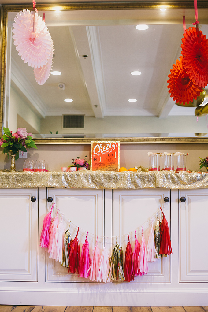 Valentine's engagement party | Glamour & Grace