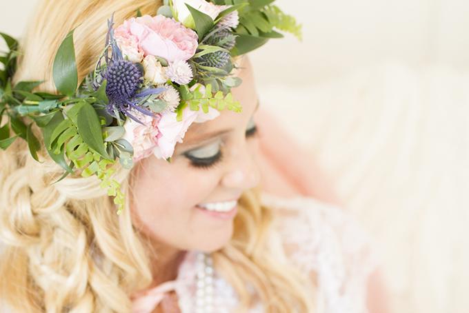romantic tea party boudoir | Angie Capri Photography | Glamour & Grace