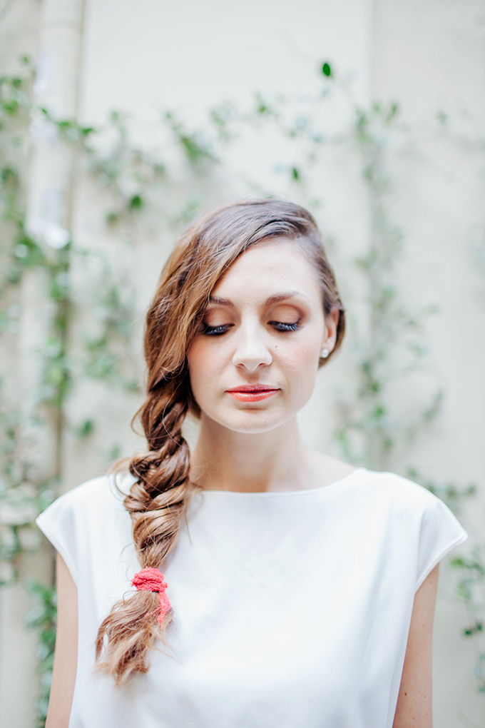 side braid | Les Amis Photo | Glamour & Grace