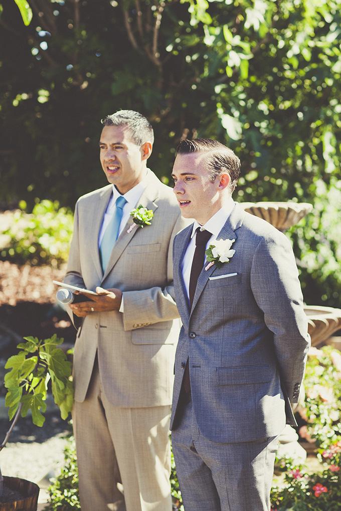groom's reaction   Sarah Kathleen   Glamour & Grace