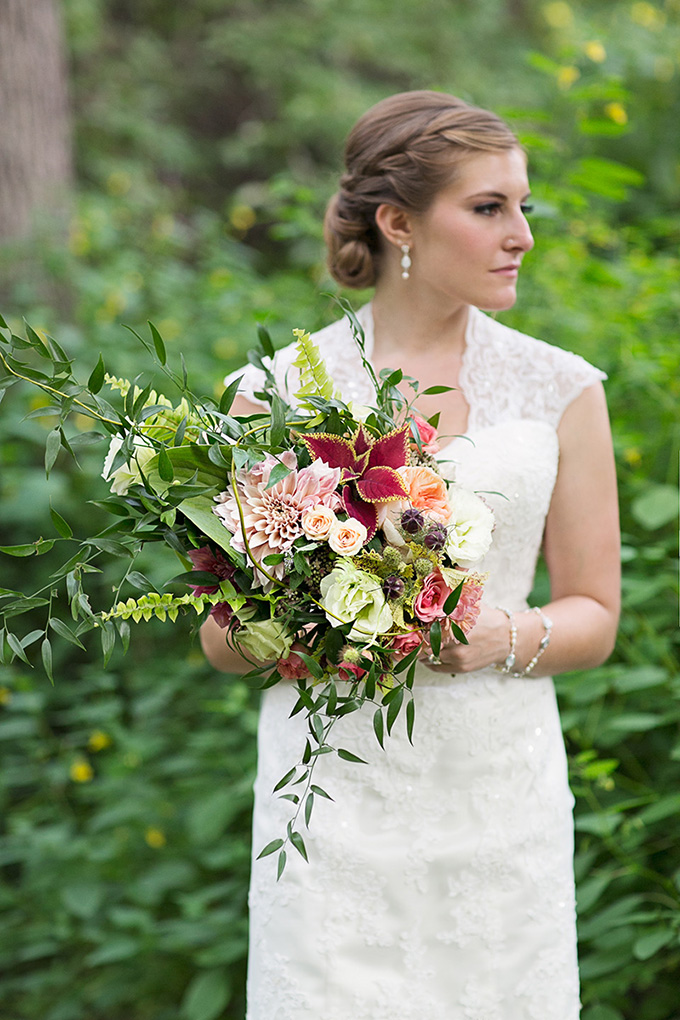 lush bouquet | Tammy Swales | Glamour & Grace