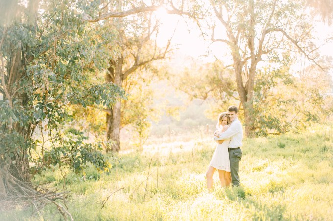 dreamy field engagement | Brittanee Taylor Photography | Glamour & Grace