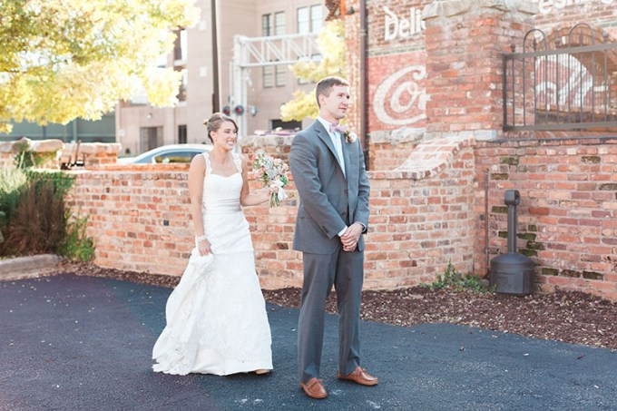first look   Devon Donnahoo Photography   Glamour & Grace