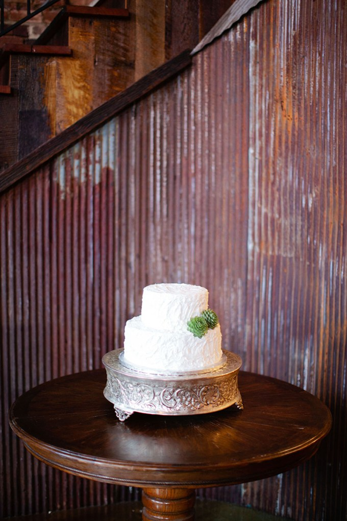 buttercream and succulent cake   Devon Donnahoo Photography   Glamour & Grace