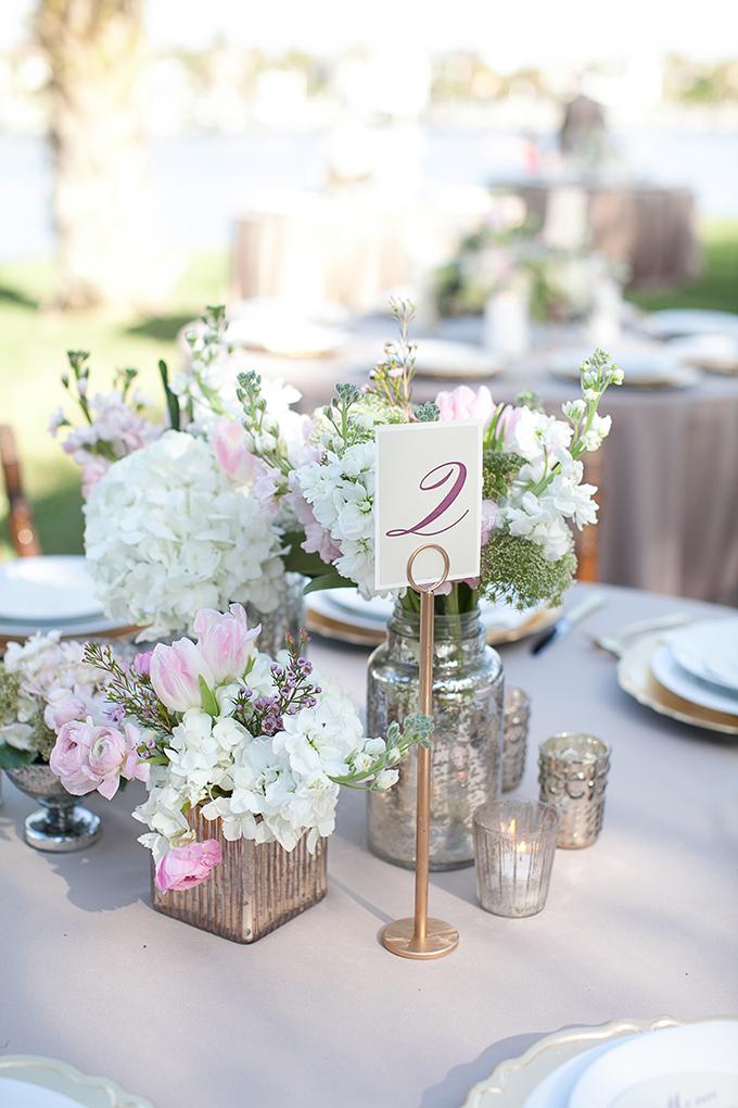 romantic purple centerpiece | Roohi Photography | Glamour & Grace