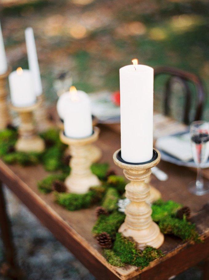 elegant woodland wedding inspiration   Elizabeth Ngundue Photography   Glamour & Grace